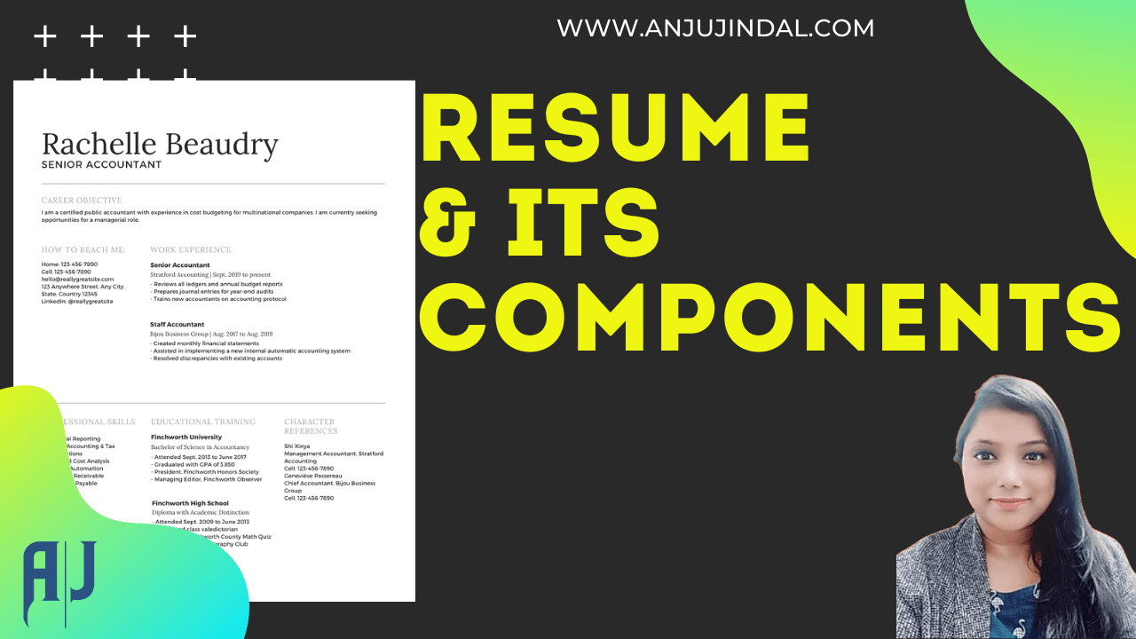 resume and its component