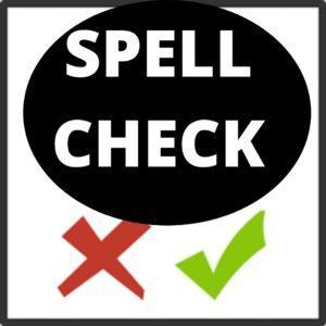 avoid common spelling mistakes