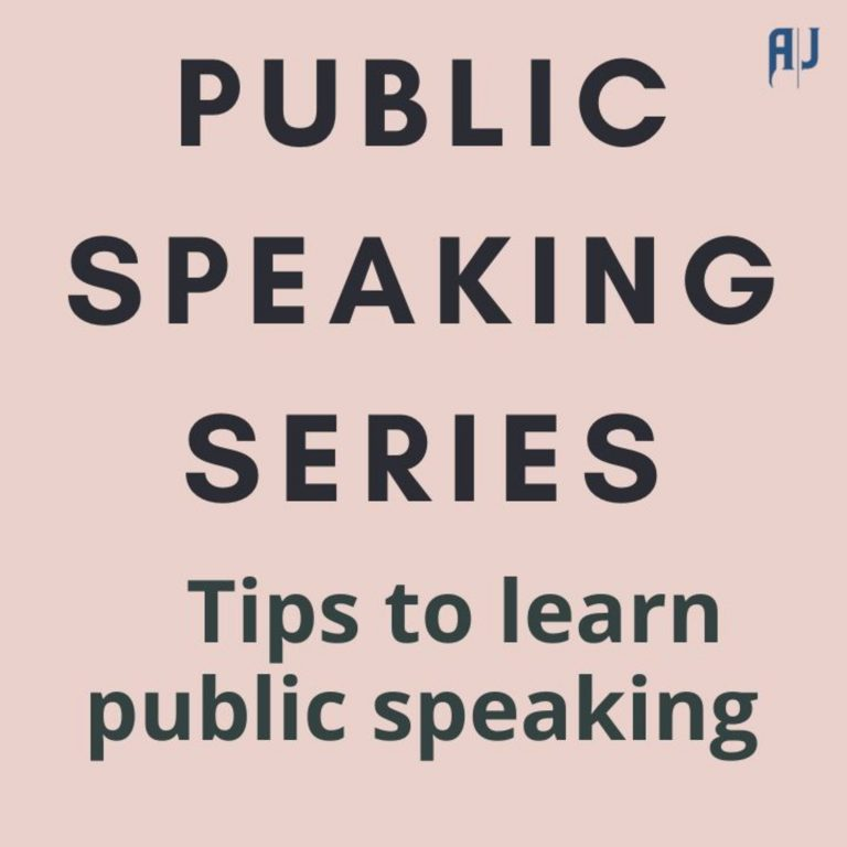 Public SpeakingTip | Find a role model to know what to do